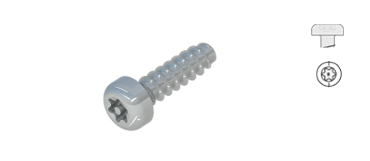 Screws for Plastic   ,       Pan head with TT-drive   , WN5452 / WN1452, STP42